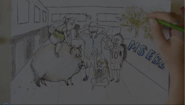 "Brandneu – der ultimative Schulfilm der Klasse 8a – ""Rap"""